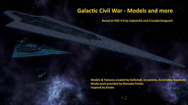 Star Wars: Galactic Civil War – Models & more -) For Mod