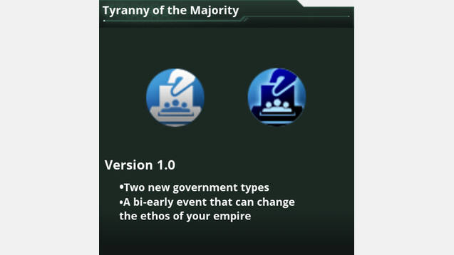 tyranny of majority The one pervading evil of democracy is the tyranny of the majority, or rather of that party, not always the majority, that succeeds, by force or fraud, in carrying elections.