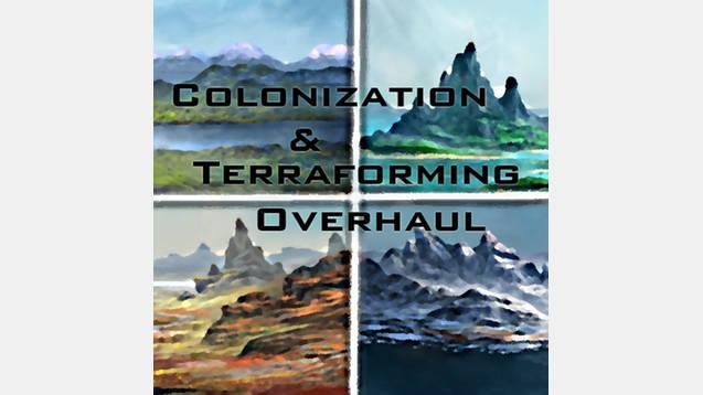 Colonization & Terraforming Overhaul for Stellaris