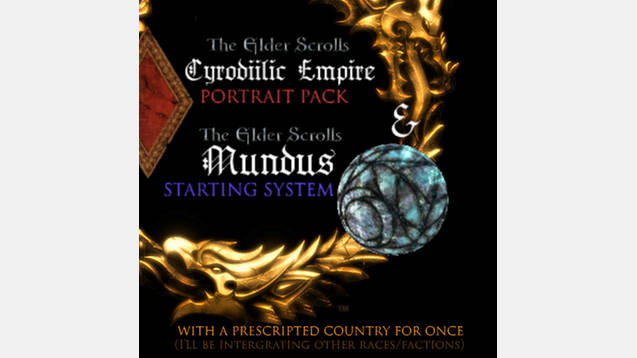 elder scrolls mundus 2 0 species system for stellaris