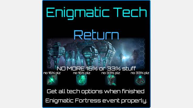 Enigmatic Tech Return for Stellaris - Stellaris mod